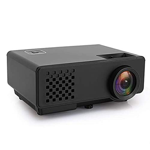 """PUNNKK P6WIFI Mini LED Video Projector, 1500 Lumens 120"""" Inch Multimedia Projector Supporting 1080P, HDMI, USB, VGA, AV for Home Theater Entertainment Parties"""