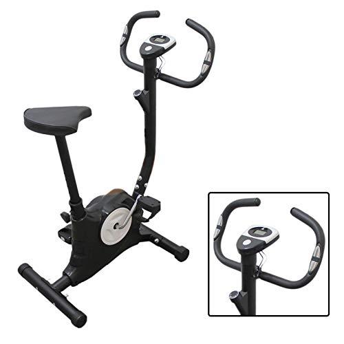 Cyclette Cicletta Bici Da Camera Easy Belt Cardio Cardiofrequenzimentro Pulsazioni Computer Gym Fitness Dimagrire Muscoli Gambe Resistenza Cellulite Cosce