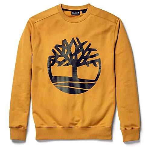 Timberland Herren Sweatshirt Core Tree Crew Sweat Black/Wheat S