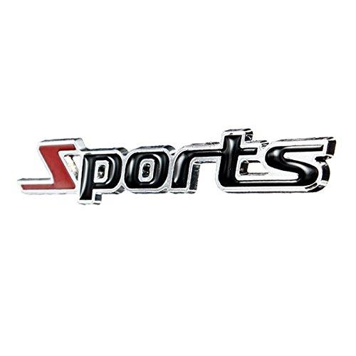 Cikuso Calcomania Pegatina de Insignia Emblema de Sports 3D