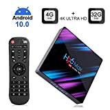 EstgoSZ H96 Max Android 10.0 TV Box 4GB RAM 32GB ROM Dual-Band WiFi...