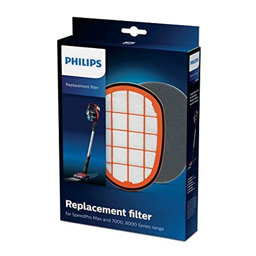 Philips FC5005/01-2 Filtros para aspiradora (Stick vacuum, Kit de accesorios, Negro, FC6812 FC6813 FC6822 FC6823 FC6826 FC6901 FC6902 FC6903 FC6904)