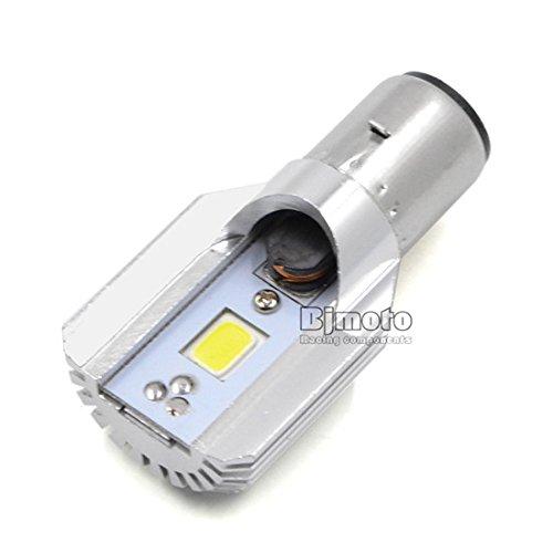 Phare LED Nouveau Style BA20D extrêmement lumineux LED Ampoule de phare de moto DC 8 V ~ 80 V 8 W 800LM 6500 K Lumière COB Moto ampoule de brouillard