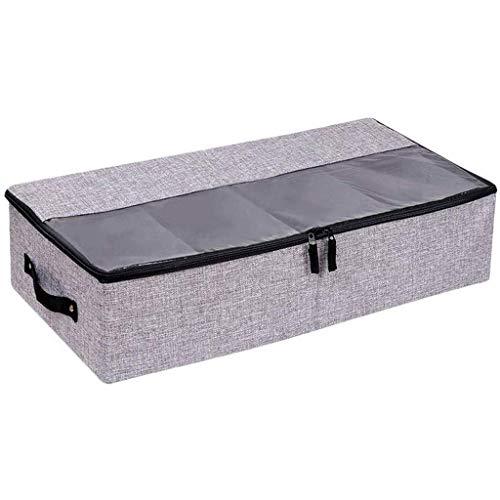 ADSE Caja de Almacenamiento - Caja Plegable de algodón y Lino Bolsa de Almacenamiento Caja de Tela Gruesa Caja de Almacenamiento a Prueba de Polvo