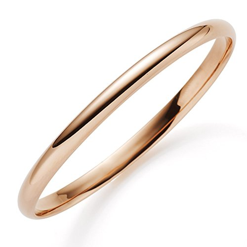Armreif 5,5mm 585 Echt Gold Rotgold glatt glänzend Armband Armschmuck Damen