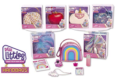 Cefa Toys Real Little Mini Bolso, Color Azul (00641)