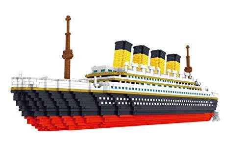 Nano-Steine Baustein Mikro-Baustein Modell kleine Partikel zusammengesetzt und eingesetzt Kinderpuzzle-Titanic Nano-Steine