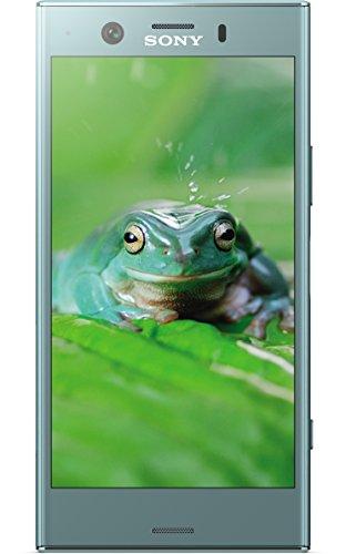 Sony Xperia XZ1 Compact Smartphone 11,65 cm (4,6 Zoll) Triluminos Display (19MP Kamera, 32GB Speicher, Android) Blau - Deutsche Version