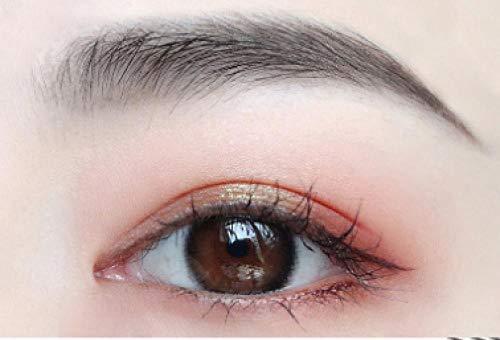 Crayon à sourcils, crayon à sourcils de tatouage, avec 3 couleurs de gel à sourcils imperméable durable et crème pour les yeux légère