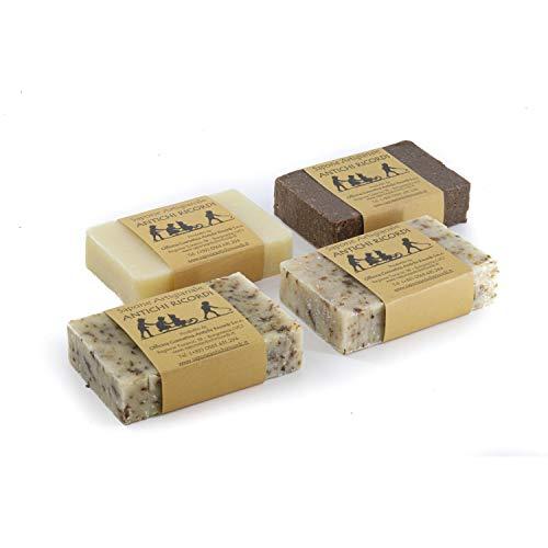 4 Saponette da 100 g all'Olio d'Oliva Artigianali...