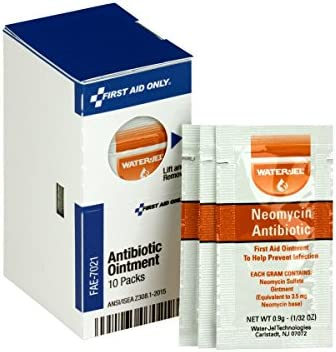First Aid Only FAE 7021 SmartCompliance Refill Antibiotic Ointment 10 Count product image