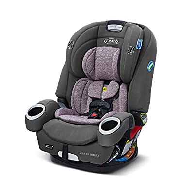 Graco 4Ever DLX SnugLock 4 in 1 Car Seat | Infant to Toddler Car Seat, with 10 Years of Use | Featuring Easy-Install SnugLock Technology, Leila by Graco Children's Products