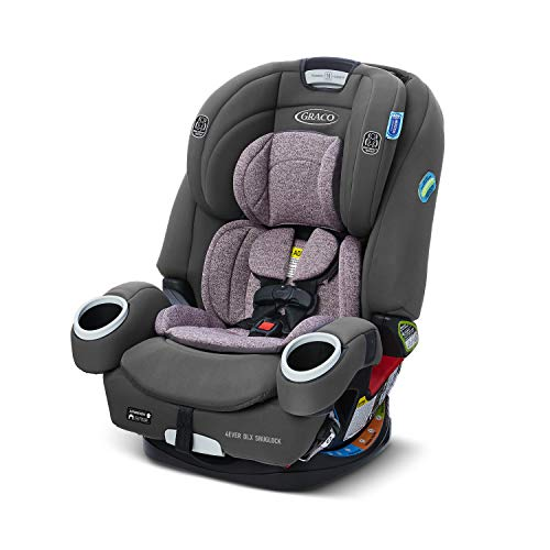 Graco 4Ever DLX SnugLock 4 in 1 Car Seat | Infant to Toddler Car Seat, with 10 Years of Use | Featuring Easy-Install SnugLock Technology, Leila