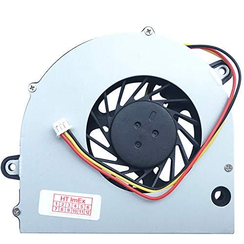 (Version 2) Lüfter/Kühler Fan kompatibel mit Toshiba Satellite L500, L500D, L505, L505D, L550, L550D, L555, L555D