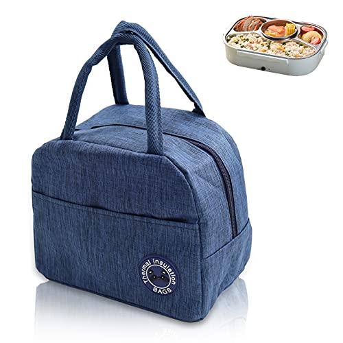 Kühltasche Faltbar,6L Picknicktasche Kühltasche,Lunch Tasche,Kühltasche Mini Faltbar,Kühltasche Eistasche,Minikühltaschen,Thermotasche Faltbar Klein,Isoliertasche Lunch,Kühlbox für Picknick (Marine)