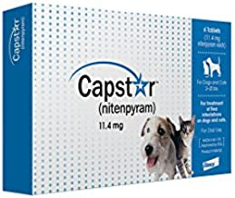 Capstar Fast-Acting Oral Flea Treatment for Dogs