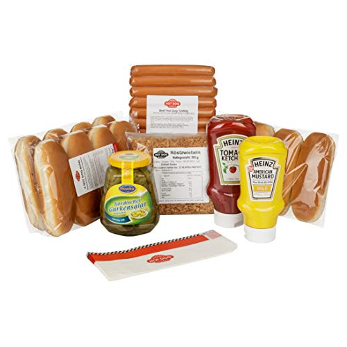 "HOT DOG WORLD - Hot Dog Paket ""dänische Art"" (12 Stück GEFLÜGEL)"