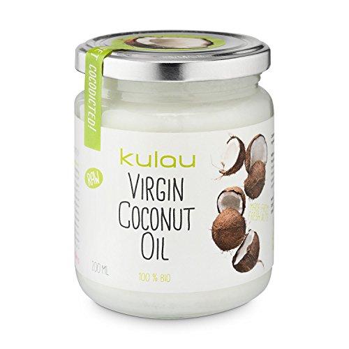 Kulau Bio-Kokosöl Raw, 3er Pack (3 x 200 g)