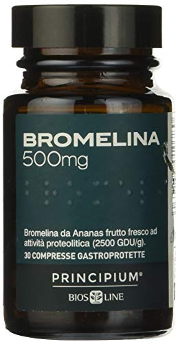Principium Bromelina 500 mg - 30 compresse gastroprotette