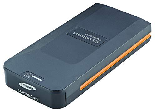 Prophete Unisex– Erwachsene Samsung Gepäckträger-Ersatzakku mit Gehäuse für Elektrofahrrad, Lithium-Ionen 36V/ 13,7Ah (493Wh), schwarz, Einheitsgröße