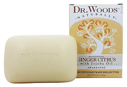 Dr. Woods Castile Bar Soap Ginger Citrus (1x5.25 Oz)