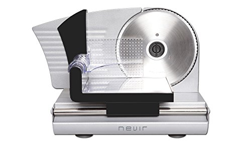 Nevir Cortafiambres Nvr-4004 CF 150W,Cuchilla INOX, 150 W, Plata