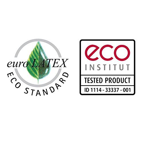 Ravensberger Natura LUX 100% Natur-Latex Topper Matratzen Auflage LATEXCO Latex RG 75 (50-110 kg) Baumwoll-DT 90×200 Bild 6*