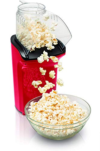Buy KUNAW Multifunction Hot Air Popcorn Popper, Healthy Oil Free 1200W Household Children's Automati...