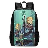 BAGGNICE The Legend of Zelda 17 Inch School Bag Backpack College Bag Laptop
