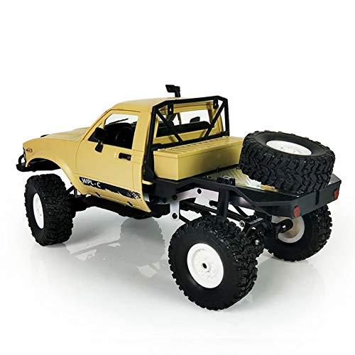 TTGE Kinderauto Spielzeugauto 1:16 militärisches LKW-Spielzeugmodell 31X14.1X14cm,Yellow