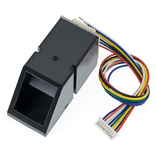 AS608 Fingerprint Reader Sensor Module Optical Fingerprint Fingerprint Module for Arduino Locks Serial Communication Interfac