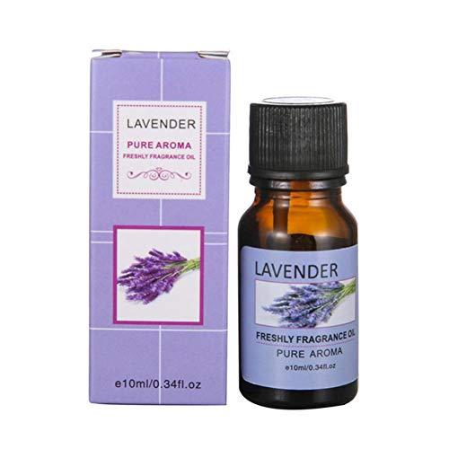 Blue Vesse Organic Lavender Essential Oil 10ml Rein Natürlich Ätherisches Lavendelöl For Diffuser, Aromatherapy, Headache, Pain, Meditation, Anxiety, Sleep Perfect For Candles & Massage (Z Lavendel)