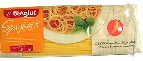 BiAglut Gluten-Free Spaghetti Pasta, 17.6 Ounce Packages (Pack of 10)