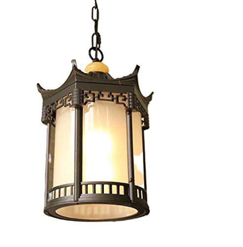 FYSH Lámpara de Pared a Prueba de Polvo a Prueba de AGU Impermeable al Aire Libre de la lámpara Nuevo Chino Retro Balcón Corredor luz Creativa al Aire Libre Patio Pabellón de Luz