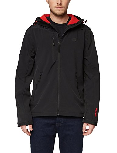 Bench Herren Softshell Jacke, Schwarz (Black Beauty Bk11179), Large
