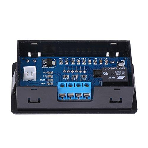 Ruspela Batería de baja tensión cortada interruptor automático de protección controlador de bajo voltaje negro