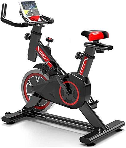 Lloow El Deporte de Ciclismo Indoor con Sensor de frecuencia cardíaca Soporte Teléfono +, una Silla Ajustable Grips Resistencia Ajustable para la casa y la Oficina de