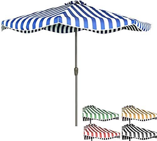 WSJTT Sombrilla De Playa, 8,2 Pies Sombrilla De Playa, Portátil Protección UV 50+ Parasol De Playa Jardín del Patio De La Playa Al Aire Libre (Color : D)