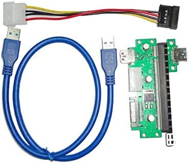 YingLoi PCI-E X1 to 5 ☆ popular X16 Extension quality assurance PCIE USB3.0 Riser Card Graphic