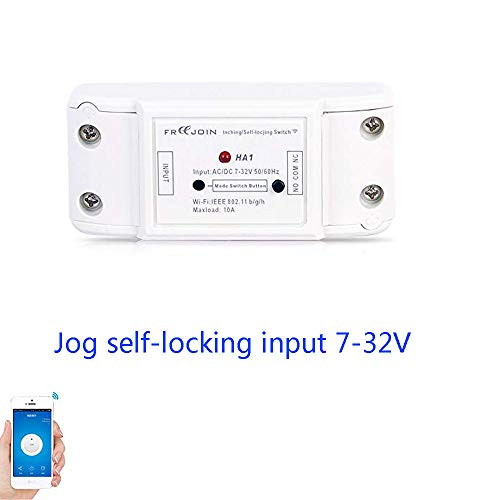 FREEJOIN 1 Channel Self-locking Wireless Relay Module wifi smart switch for smart home Automation dc 7v 12v 24v 32v 10A