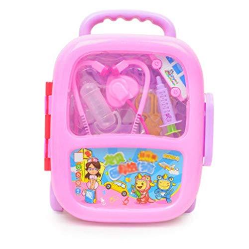 Xiaogang Kinder Kleiner Doktor Toy Set Stethoscope Hanging Bottle medizinisches Werkzeug Trolley...