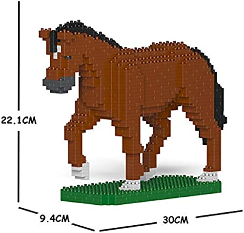 JECKA Animal Building Blocks for Kidults Horse 02S-M01