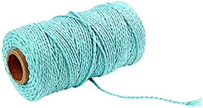 2 mm Katoenen Koord Kleurrijke Koord Touw Beige Twisted Craft Macrame String Diy Katoen Linnen Thuis Textiel Bruiloft Deco...