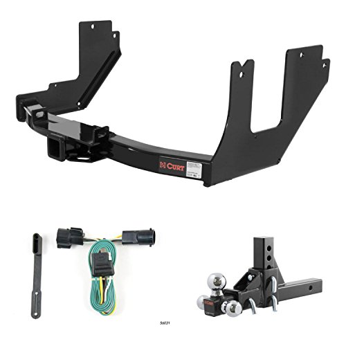 Cheapest Price! CURT Trailer Hitch, Wiring & Ball Mount w/ 5 3/4 Drop & Rise for 05 Ford F-150