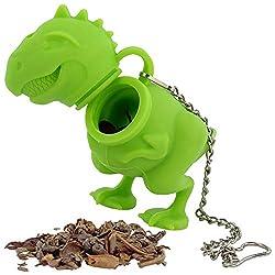 6. Funwares T-Rex Tea Infuser with Hanging Chain