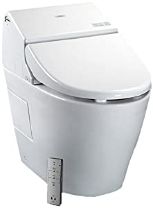 Dual-Max flushing system - 1.28 Gallon Flush or 0.9 Gallon Flush Front and rear warm water washing with temperature and adjustable pressure controls Remote control operation. Illuminated touch pad. 2 user memory. Auto Open/Close lid. Auto Flush Sleek...
