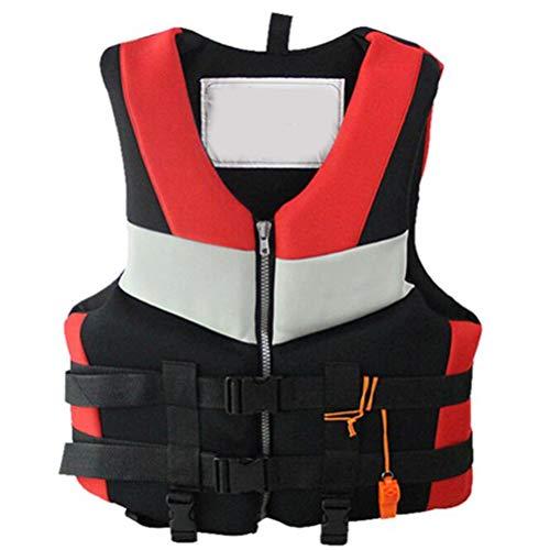 Chaleco Salvavidas para Adultos, Chaleco Flotante de natación, Chaqueta de Seguridad para Mujeres, Hombres, Chaqueta de flotabilidad para navegar, Remo, embarque, Canoa, Kayak