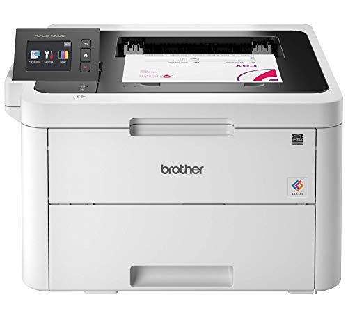 Brother HL-L3270CDW Compact Wireless Digital Color Printer with NFC, Mobile Device and Duplex Printing - Ideal for Home and Small Office Use (Renewed)
