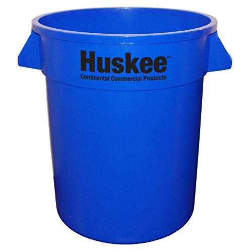 Continental 2000BL Huskee Blue 20 gal Receptacle