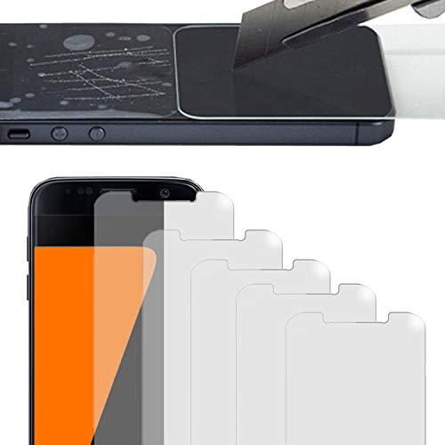 Eximmobile - 5 Stück Bildschirmschutzfolie kompatibel mit HTC Desire 500 Schutzfolie Selbstklebende Bildschirmfolie biegsame Schutzfolie dünne Flexible Folie transparent klar Anti Kratzer